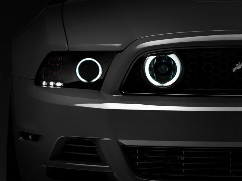 Raxiom Chrome Fog Lights - CCFL Halo (13-14 GT)