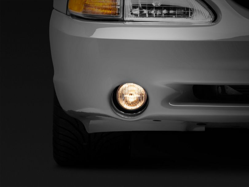 Axial Replacement Fog Light; Driver or Passenger Side (94-98 Cobra)