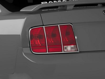 SpeedForm Chrome Tail Light Trim (05-09 All)