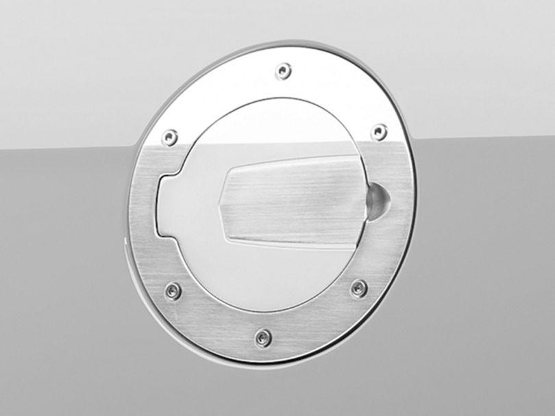 SHR Brushed Fuel Door (10-14 All)