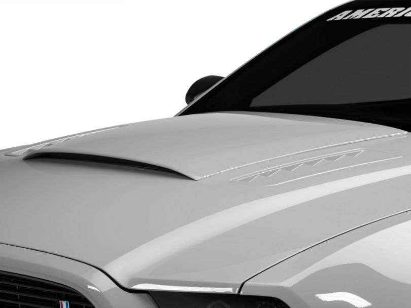 Roush Hood Scoop; Unpainted (13-14 GT, V6)