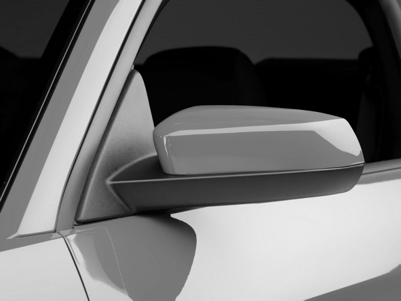 SpeedForm Mirror Covers; Unpainted (10-14 V6)