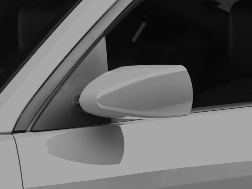MMD Retro Style Mirrors; Pre-Painted (05-09 All)
