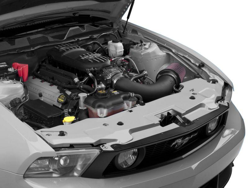 SpeedForm Radiator Cover; Pre-Painted (10-12 GT, V6)
