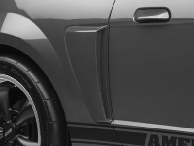 Pre-Painted GT Style Side Scoops - Black (99-04 All)