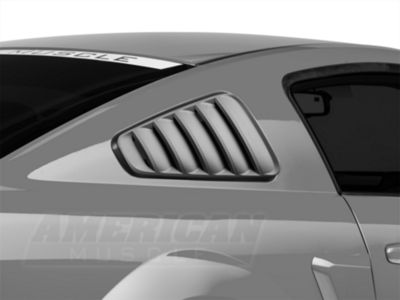 Add SpeedForm Classic Quarter Window Louvers - Pre-Painted (05-09 All)