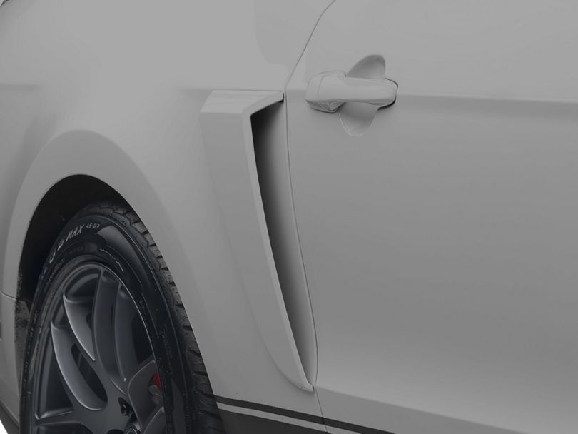 MMD Side Scoops; Unpainted (10-14 All)