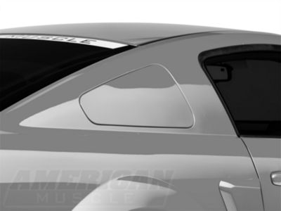MMD GT350 Style Window Covers - Pre-Painted (05-09 Coupe)