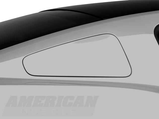 MMD GT350 Style Window Covers; Pre-Painted (10-14 Coupe)