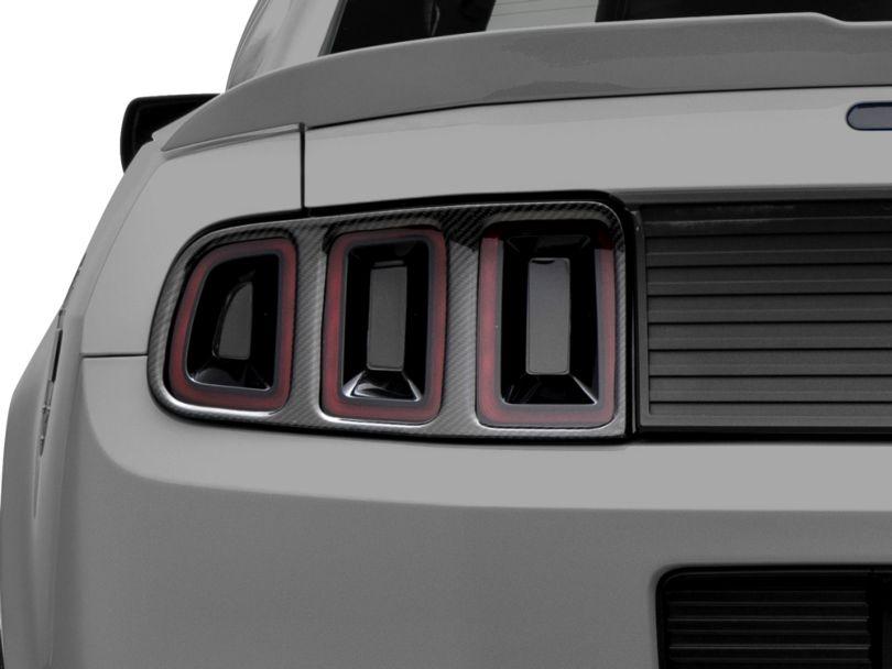 MMD Tail Light Trim - Carbon Fiber (13-14 All)