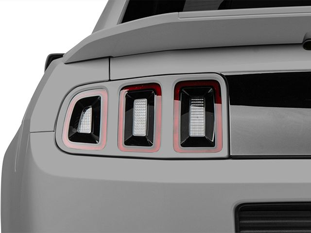 MMD Tail Light Trim; Pre-Painted (13-14 All)