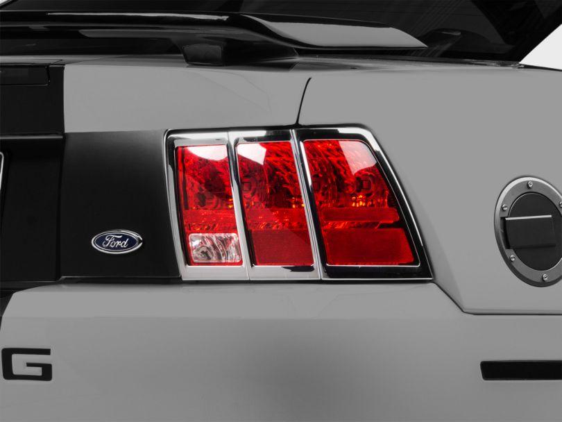 MMD Tail Light Trim; Chrome (99-04 All)