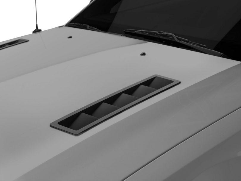MMD Hood Vent Louvers; Matte Black (05-12 GT, V6)