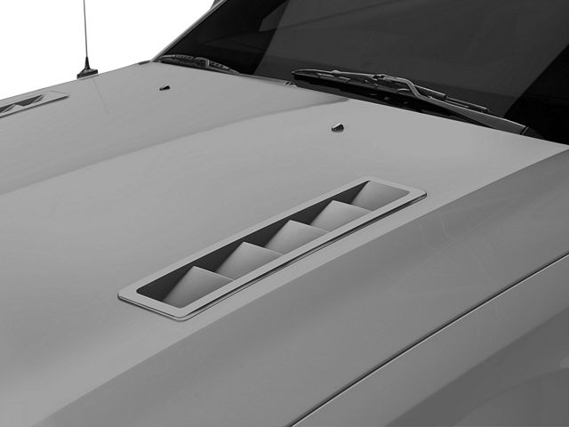 MMD Hood Vent Louvers; Pre-Painted (05-12 GT, V6)