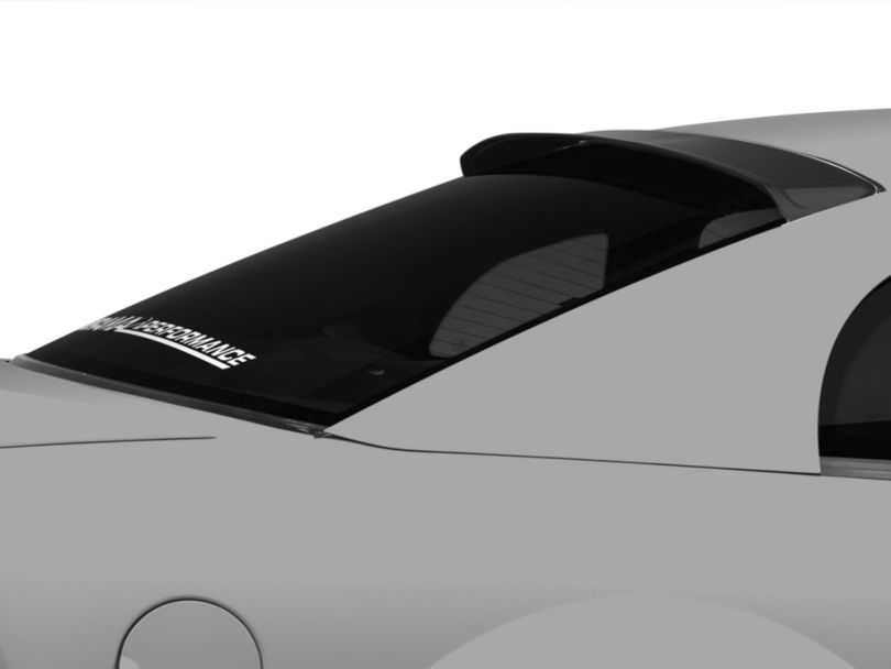 MMD Roof Spoiler; Matte Black (94-04 Coupe)