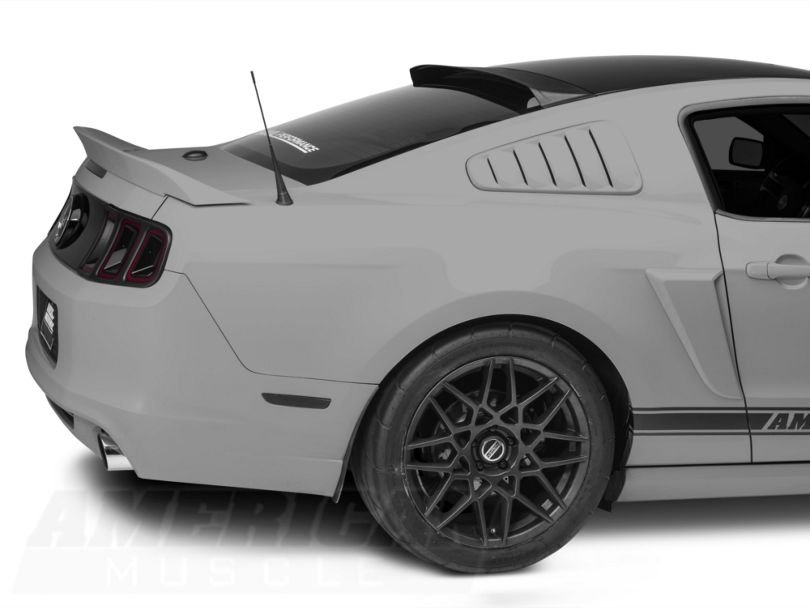 MMD Roof Spoiler; Matte Black (05-14 Coupe)