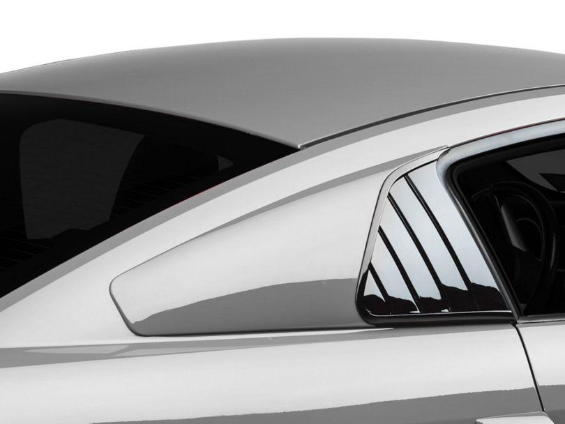 Cervini's Quarter Window Covers - Unpainted (05-14 Coupe)