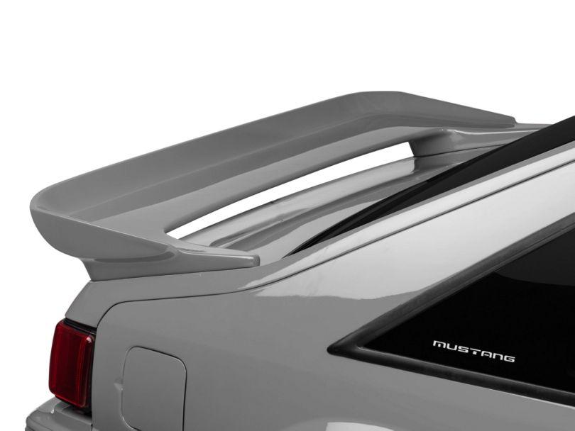 Cervini's Saleen Rear Wing; Unpainted (79-93 Hatchback)