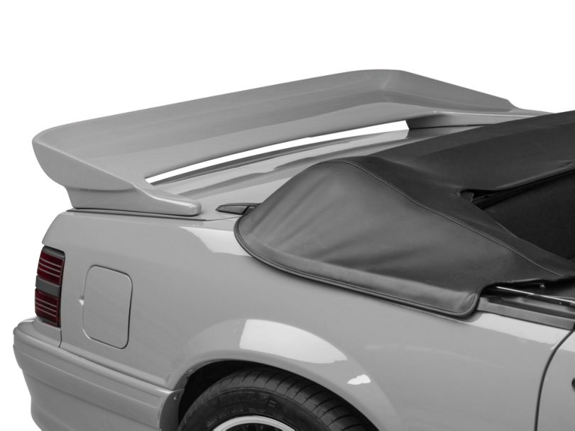 Cervini's Saleen Rear Wing; Unpainted (79-93 Coupe, Convertible)