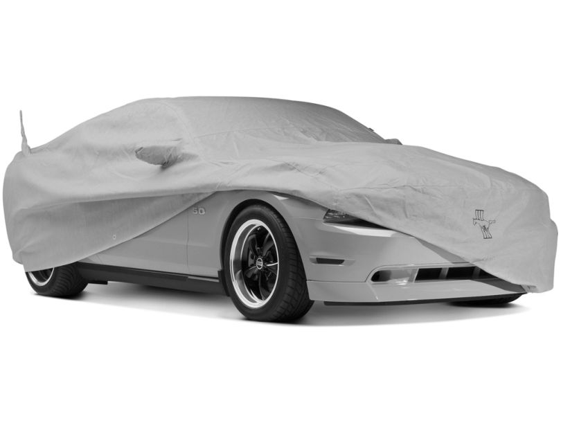 Covercraft Deluxe Custom Fit Car Cover; Pony Logo (10-14 All)