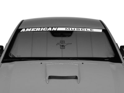 Covercraft UVS100 Heat Shield - Tri-Bar Pony Logo (05-09 All)
