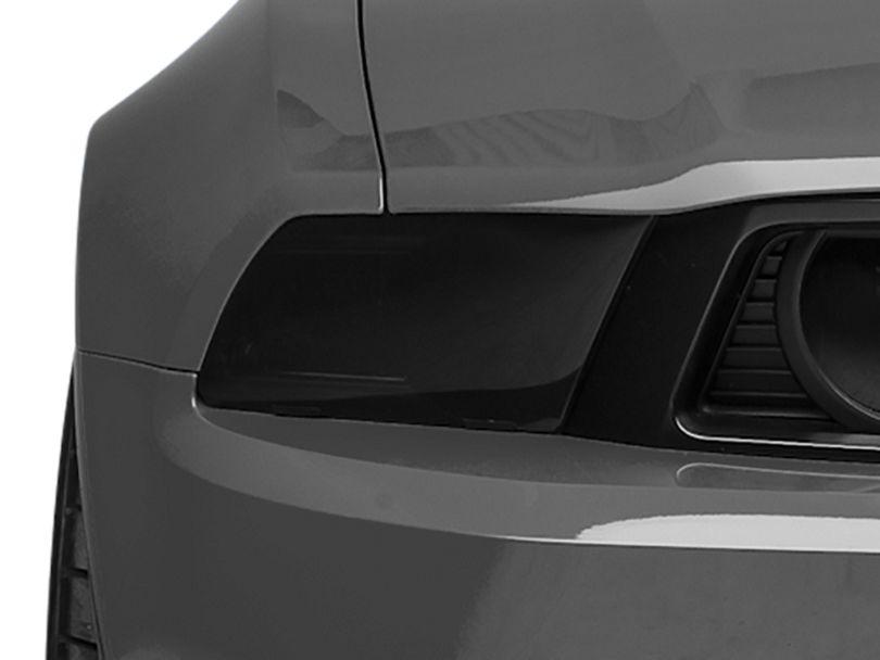 SpeedForm Smoked Headlight Covers (10-14 GT, V6)