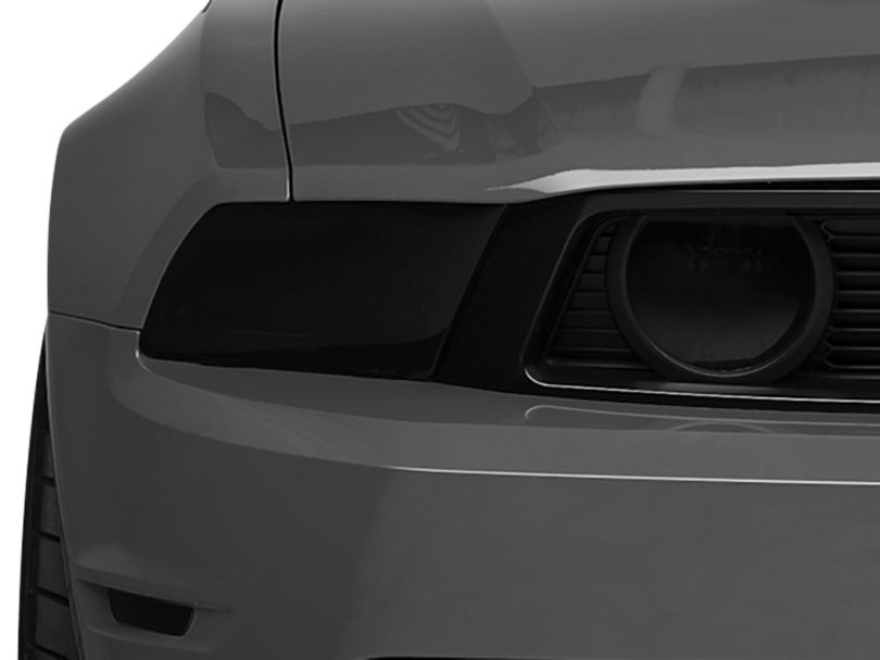 SpeedForm Fog Light Covers; Smoked (10-12 GT)