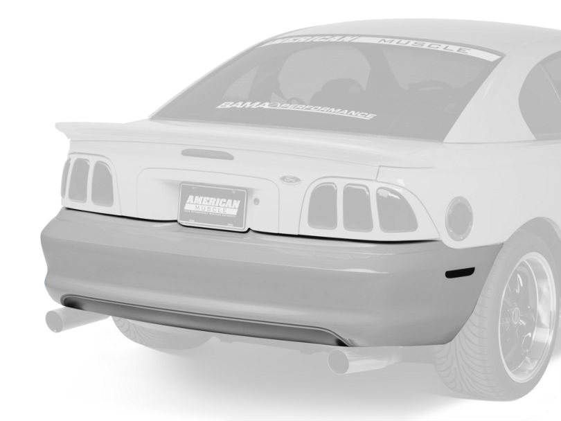 OPR Rear Bumper Cover - Unpainted (94-98 GT, V6)