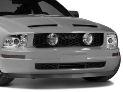 Add GT Style Pony Delete Grille w/ Fog Lights (05-09 V6)