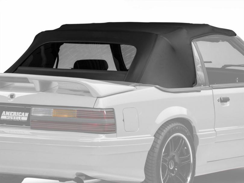 OPR Replacement Convertible Top - Black (83-90 Convertible)