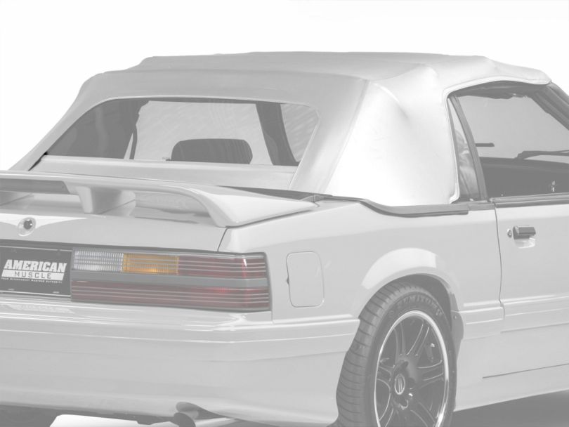 OPR Replacement Convertible Top - White (83-90 Convertible)