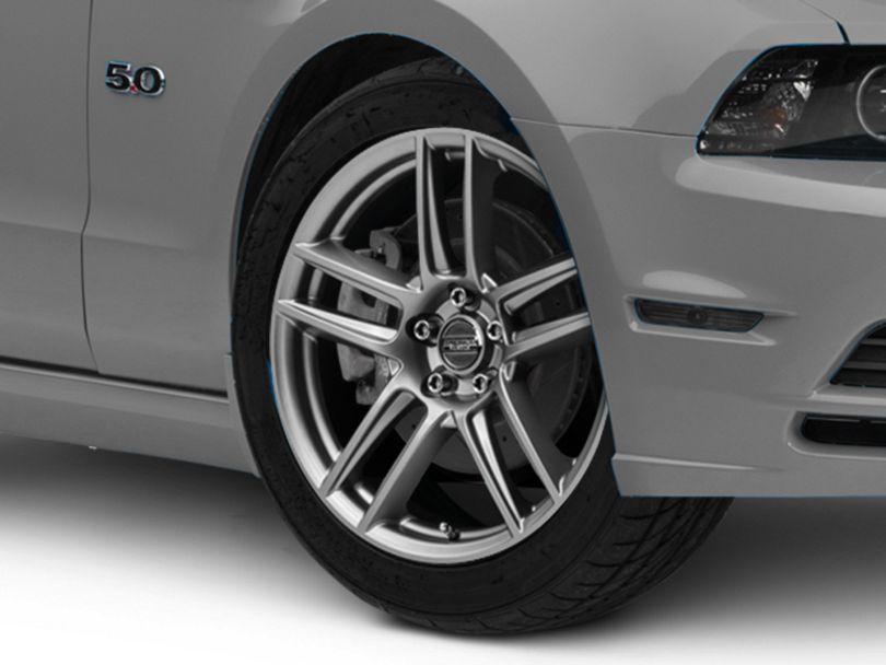 Laguna Seca Style Charcoal Wheel; 19x9 (10-14 All)