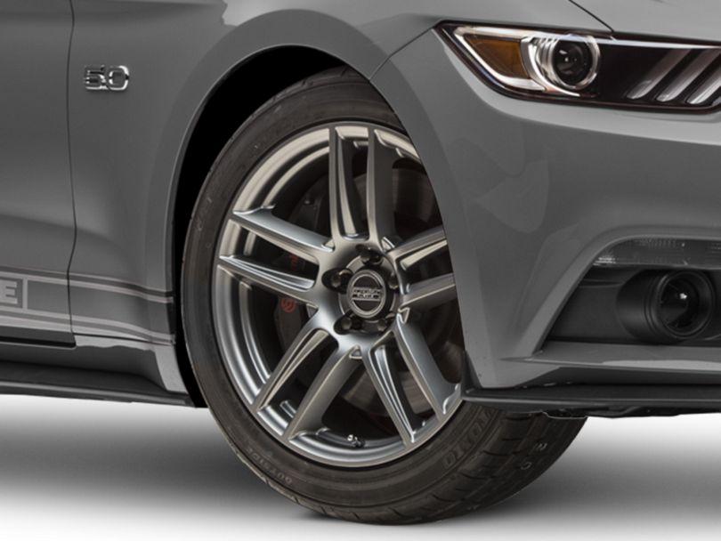 Laguna Seca Style Charcoal Wheel - 19x9 (15-20 GT, EcoBoost, V6)