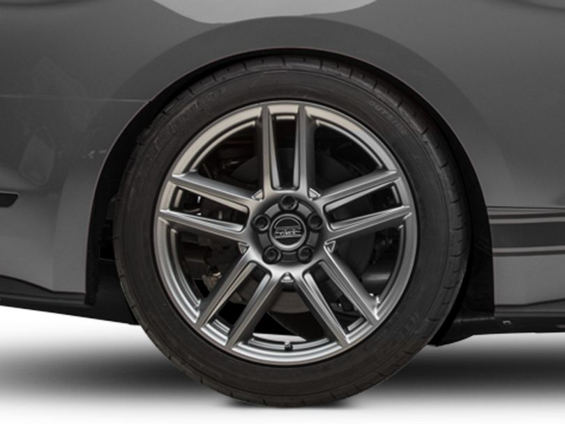 Laguna Seca Style Charcoal Wheel - 19x10 - Rear Only (15-20 GT, EcoBoost, V6)