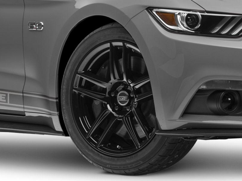 Laguna Seca Style Black Wheel - 19x9 (15-20 GT, EcoBoost, V6)