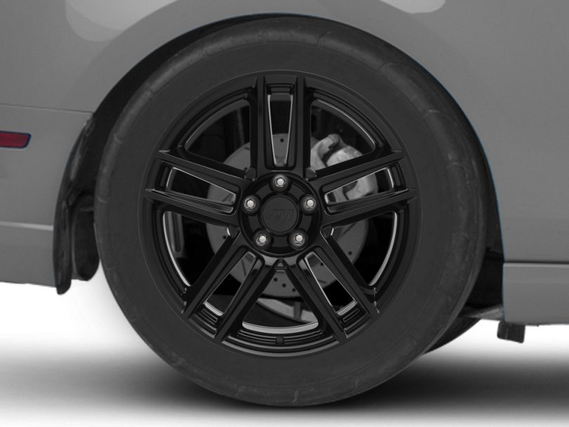 Laguna Seca Style Black Wheel - 19x10 - Rear Only (10-14 All)