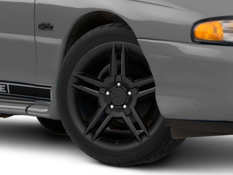 2010 GT500 Style Matte Black Wheel - 18x9 (94-98 All)