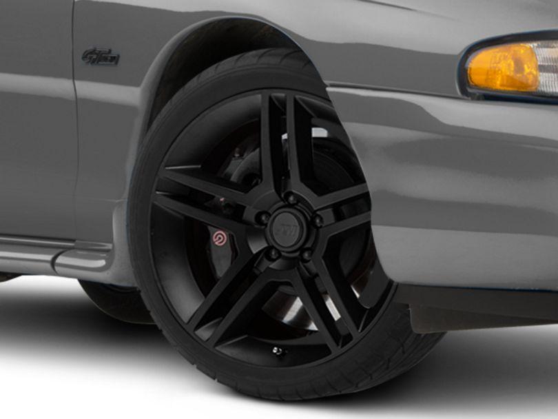2010 GT500 Style Matte Black Wheel - 19x8.5 (94-98 All)