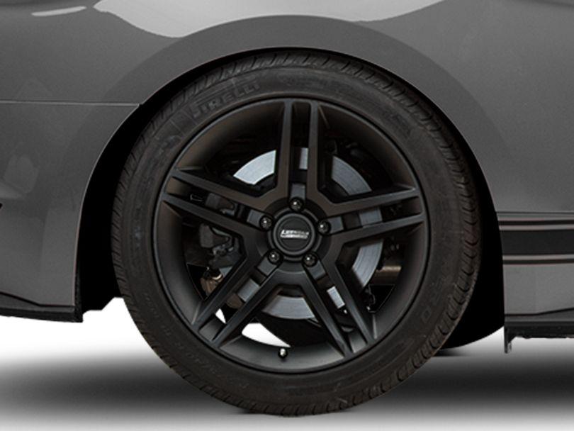 2010 GT500 Style Matte Black Wheel - 19x10 - Rear Only (15-20 GT, EcoBoost, V6)