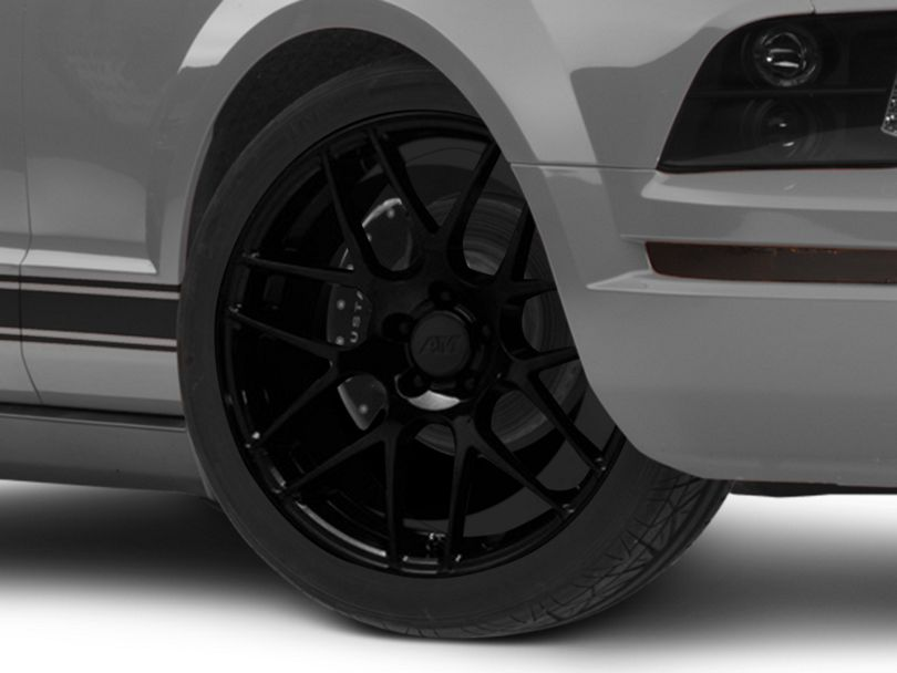 AMR Black Wheel; 20x8.5 (05-09 All)