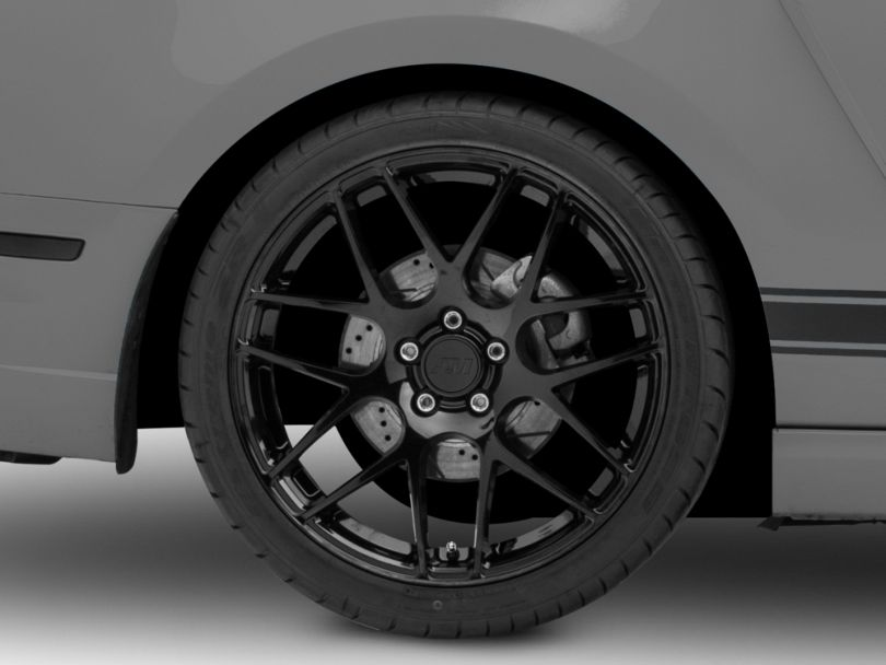 AMR Black Wheel; Rear Only; 20x10 (10-14 All)