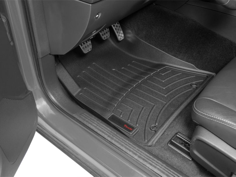 Weathertech DigitalFit Front Floor Liners; Black (15-20 All, Excluding AWD)
