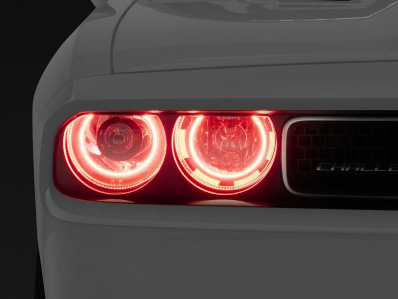Oracle OE Style Headlights with LED Halos; Chrome (08-14 w/ HID Headlights)