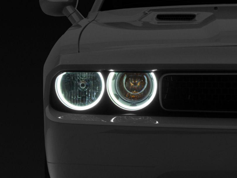 Oracle Chrome OE Style Headlights w/ Plasma Halos (08-14 w/o HID Headlights)