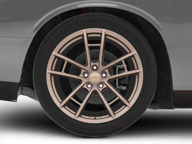 MRR M392 Bronze Wheel; Rear Only; 20x11 (08-20 All, Excluding AWD)