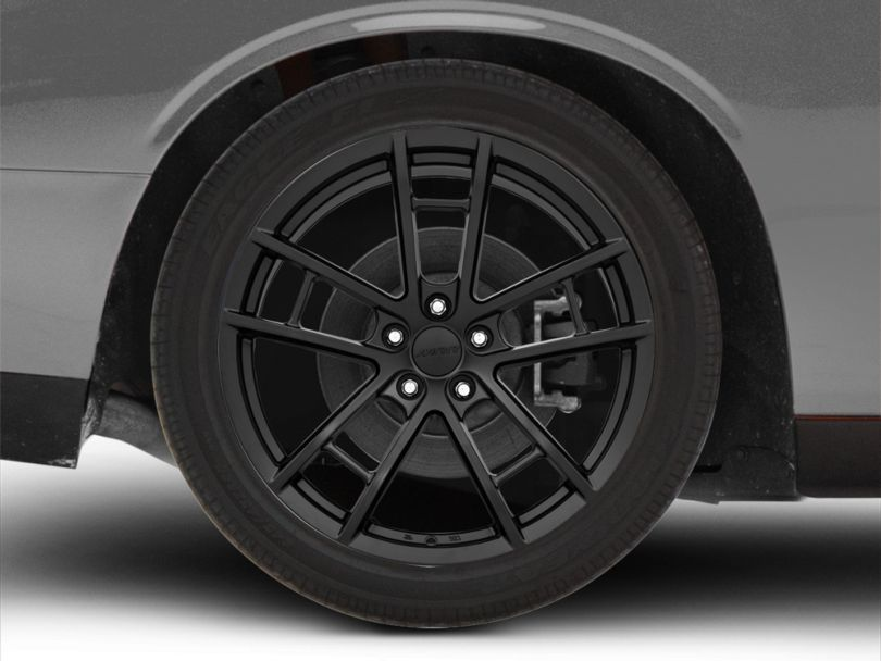 MRR M392 Black Wheel; Rear Only; 20x11 (08-20 All, Excluding AWD)
