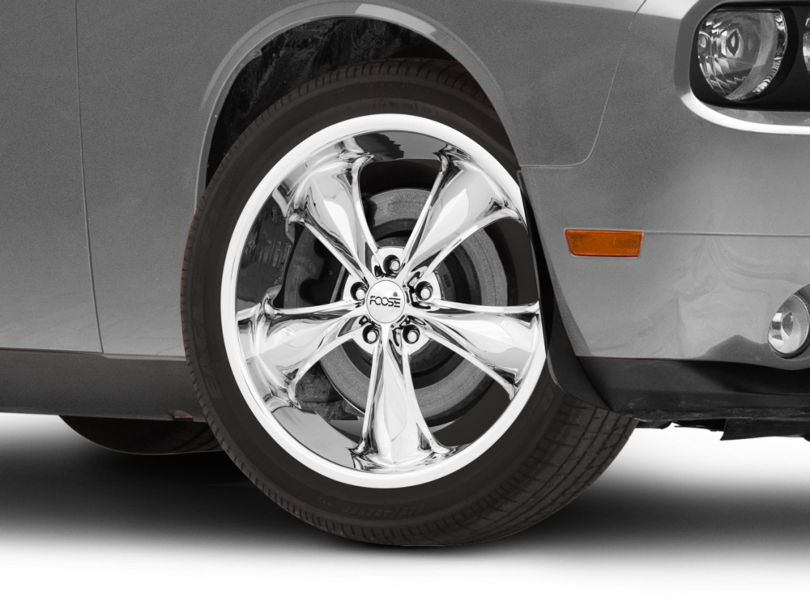 Foose Legend Chrome Wheel; 20x8.5 (08-20 All, Excluding AWD)