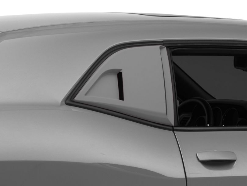 MP Concepts Quarter Window Scoops; Unpainted (08-20 All)