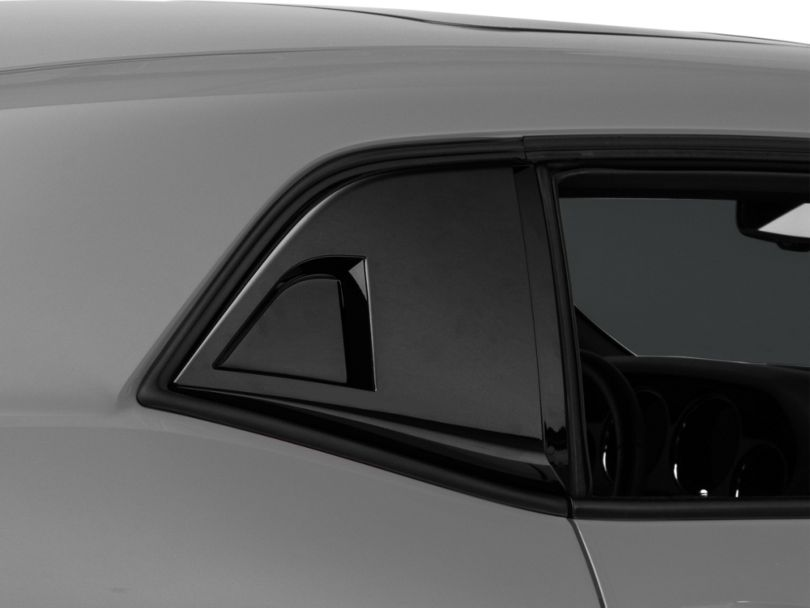 MP Concepts Quarter Window Scoops - Gloss Black (08-20 All)
