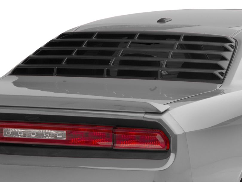 MP Concepts Rear Window Louvers - Matte Black (08-20 All)